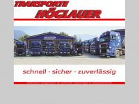 Transporte-hoeglauer.de