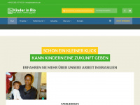 kinderinrio.de Webseite Vorschau