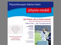 physio-mobil.at Webseite Vorschau