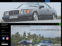 w124-coupe.de Webseite Vorschau