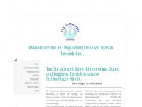 physiotherapieolivernuss.de Webseite Vorschau