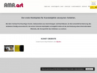 ama-art.de Webseite Vorschau