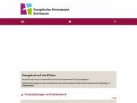kirchenbezirk-bernhausen.de Webseite Vorschau