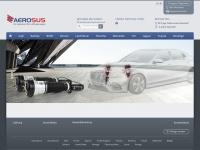 aerosus.de Webseite Vorschau
