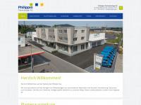philippinag.ch Webseite Vorschau