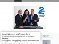 2friends.at Webseite Vorschau
