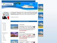 1a-cruises.de Webseite Vorschau
