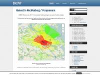 db0ovp.de Webseite Vorschau
