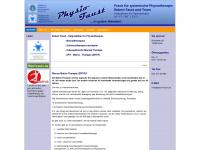 physio-faust.de Webseite Vorschau