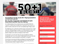 50plus1bleibt.de