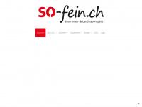 So-fein.ch