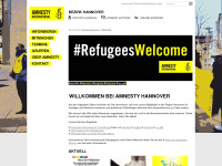 amnesty-hannover.de Webseite Vorschau