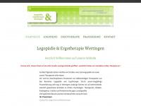 logo-ergo-wertingen.de Webseite Vorschau