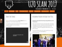 u20slam2017.de Webseite Vorschau