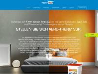 aerotherm.at Webseite Vorschau