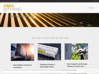 ama-technology.de Webseite Vorschau