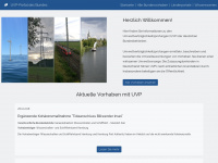 uvp-portal.de Webseite Vorschau