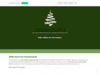 traumtanne.de Webseite Vorschau