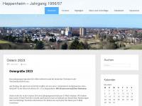 1956-57.de Webseite Vorschau