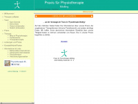 physiotherapie-moedling.at Webseite Vorschau