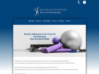 physiotherapie-hartbaum.de Webseite Vorschau