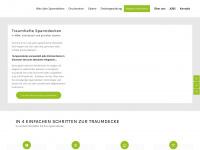 1a-spanndecke.de Webseite Vorschau