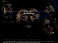 tntband.de Webseite Vorschau