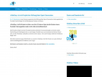 kidsday.ch Webseite Vorschau