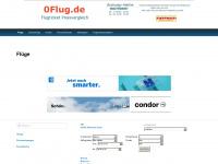 0flug.de Webseite Vorschau