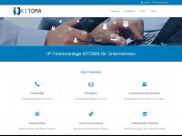 kito.ma Webseite Vorschau