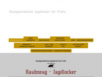 Raubzeug-jagdlocker.eu