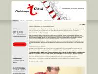 physio-oesch.ch Webseite Vorschau