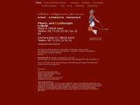 physiotherapie-leipold.de Webseite Vorschau