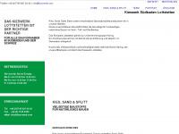 kies-werk.com Webseite Vorschau