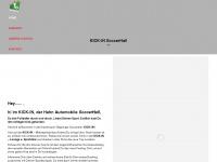 kick-indoor.de Webseite Vorschau
