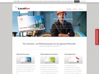 localbon.de Webseite Vorschau