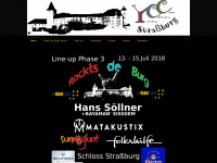 ycc-strassburg.at Webseite Vorschau