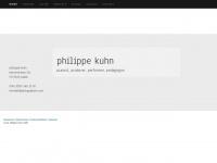 philippekuhn.com Webseite Vorschau