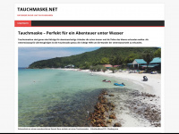 tauchmaske.net Webseite Vorschau