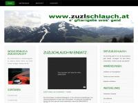zuzlschlauch.at Webseite Vorschau