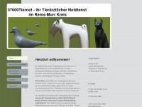 07000tiernot.de Webseite Vorschau