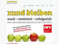 xund-bleiben.at Webseite Vorschau