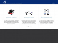 i4icm.de Webseite Vorschau