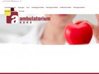 ambulatoriumnord.at Webseite Vorschau