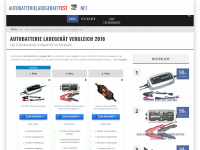 Autobatterieladegeraettest.net