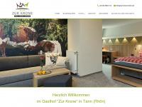 zur-krone-tann.de Webseite Vorschau