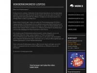 kinderkongress-leipzig.de Webseite Vorschau