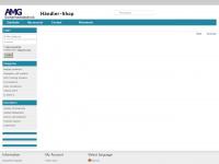 amg-haendler.de Webseite Vorschau