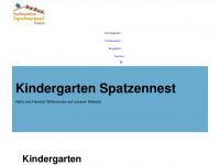 kindergarten-spatzennest.de Webseite Vorschau
