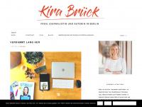 kirabrueck.com Webseite Vorschau